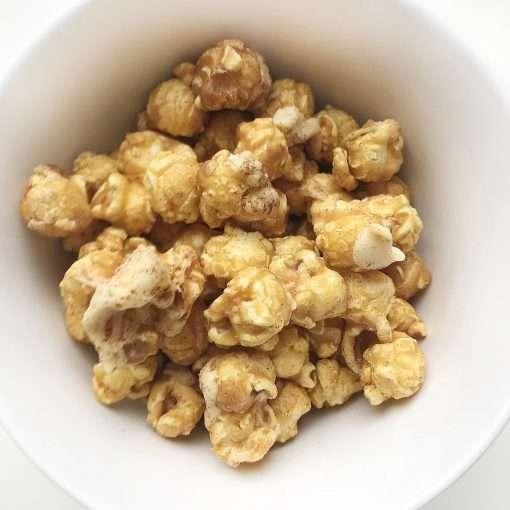 cinnamon bun popcorn
