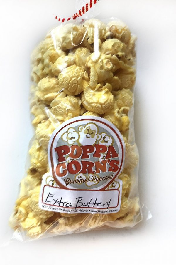extra butter popcorn