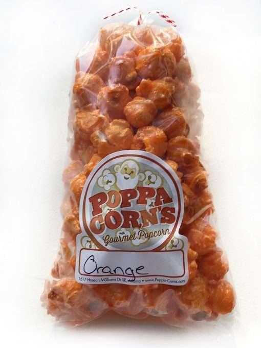 orange popcorn