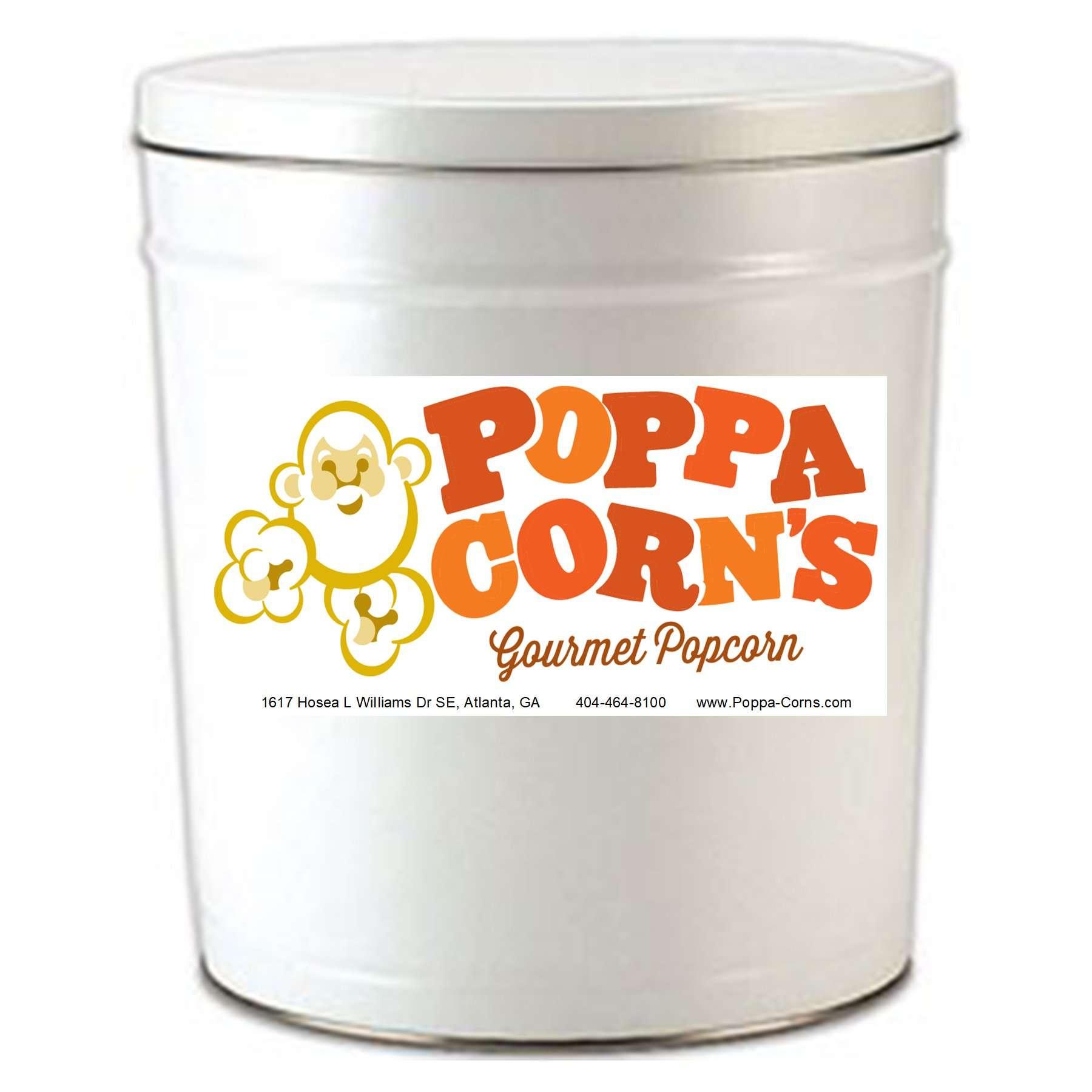 giant popcorn tin